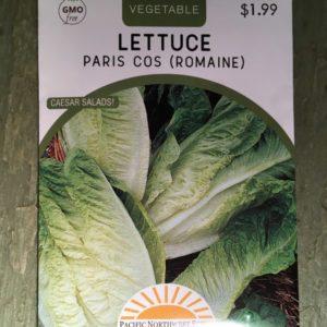 Lettuce Paris Cos (Romaine)
