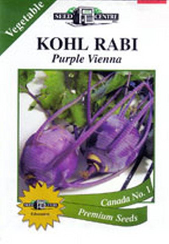 Kohlrabi - Purple Vienna