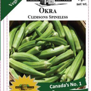 Okra - Clemson Spineless