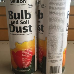 Bulb and Soil Dust
