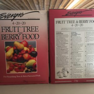 Fruit Tree & Berry Food