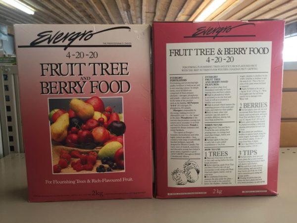 Fruit Tree & Berry Food